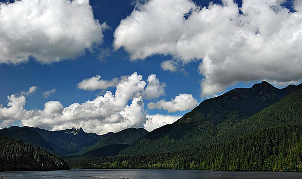 Across Capilano Lake by Julie VanDore