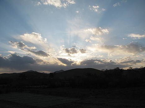 Afghanistan Sunset by Ian Dudzinski