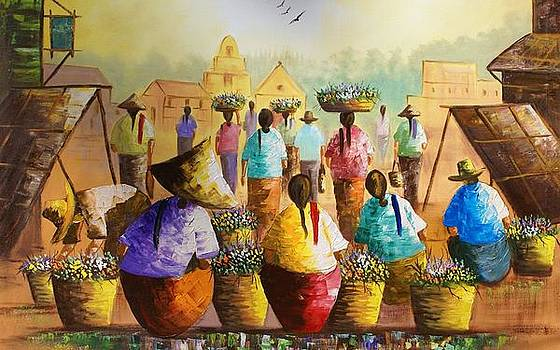 African Art by Cindy Jerry