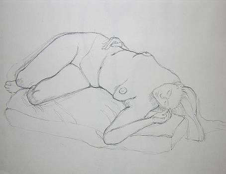 Agni Sketch by Karen Agni-Kratzer