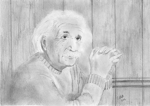 Albert Einstein by Chris Hall