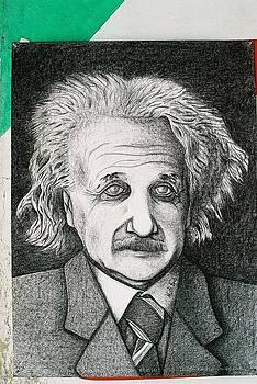 Albert Einstine by Mak Art