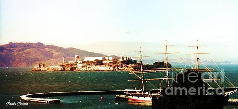 Alcatraz Island by Lorraine Louwerse