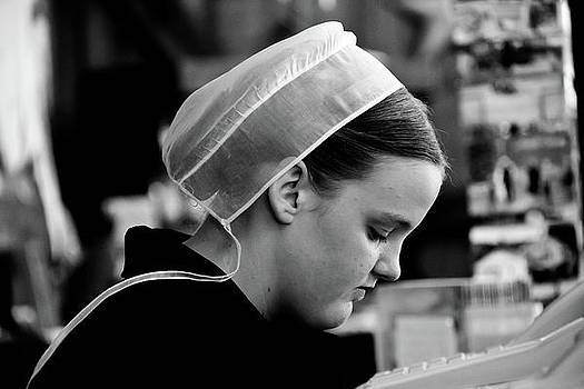 Amish Girl by Nils Creque