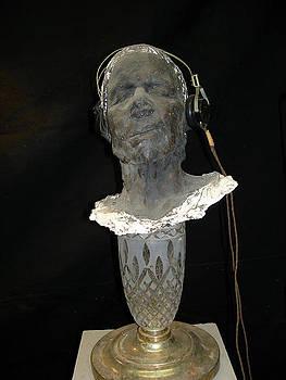 Annunciation Communitcator Head by Marc David Leviton