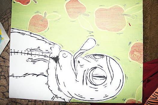 Apple Man  by Brandon Gallegos