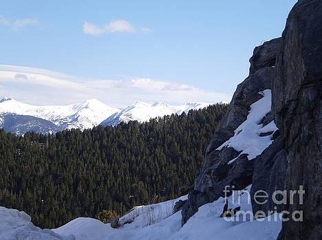 Arinsal Peak in Andorra by Paul Jessop