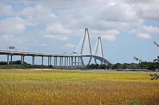 Arthur Ravenel Bridge by Donnie Smith