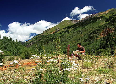 Artist in Colorado by C Nakamura