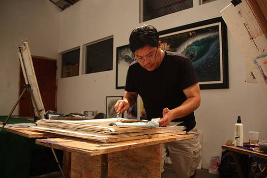 Artist in the Studio by C Nakamura