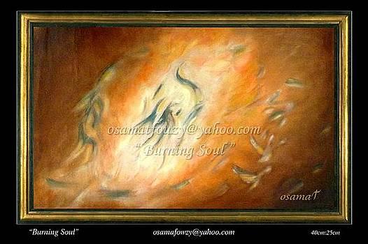 Artist Painting by Osamat Fouzy