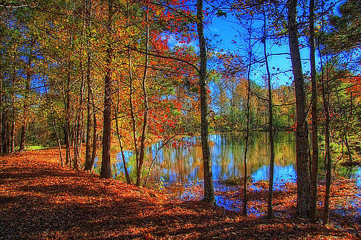 Autumn at the Lake by James Corley