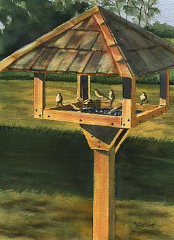 Backyard Birdie Bistro by Marsha Elliott