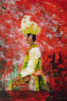Balinese Dancer I by George Williams