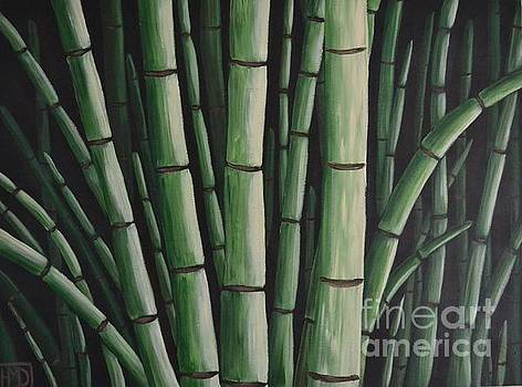 Bamboo Garden by Holly Donohoe