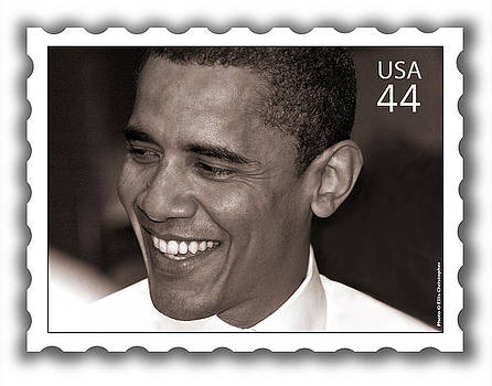Barack Obama Portrait. Photographer Ellis Christopher by Ellis Christopher