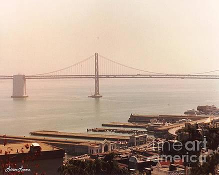 Bay Bridge to Oakland  by Lorraine Louwerse