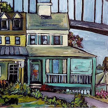 Bayard House in Chesapeake City by Carol Mangano