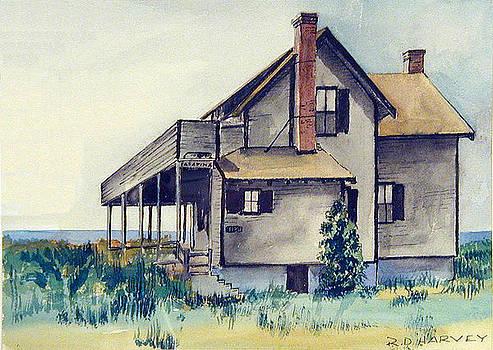 Beach Cottage #1 by Robert Harvey