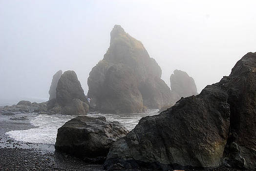 Beautiful Rock Formations by Wanda Jesfield