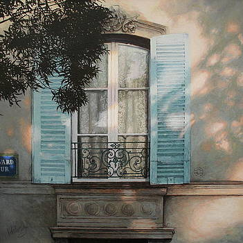 Behind Lace Curtains by Helen Parsley