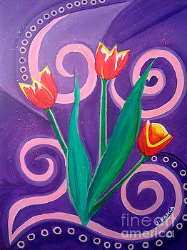 Beloved Tulips by Jonathan Kania