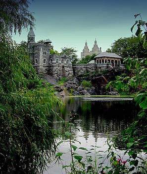 Belvedere Castle NYC by Maria Scarfone