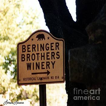 Beringer Brothers Winery by Lorraine Louwerse