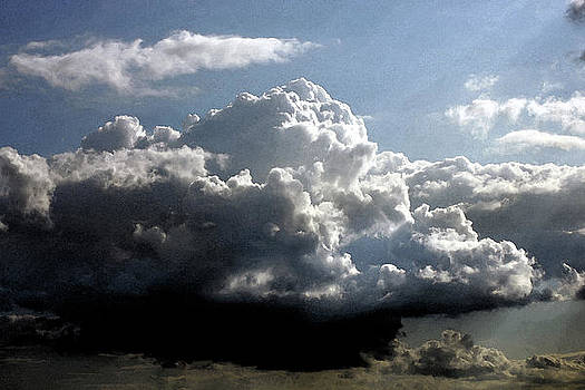 Big Cloud with watercolor effect by Erik Tanghe