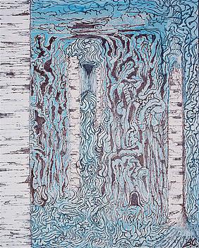 Birch N Blue by Ben Christianson