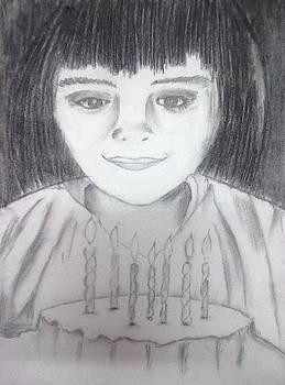Birthday girl by Bhakti Joshi