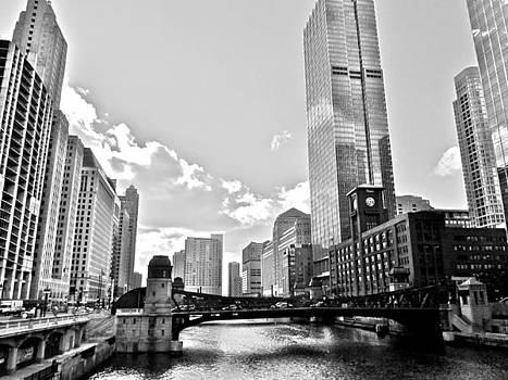Black and White Chicago by Stephanie Olsavsky