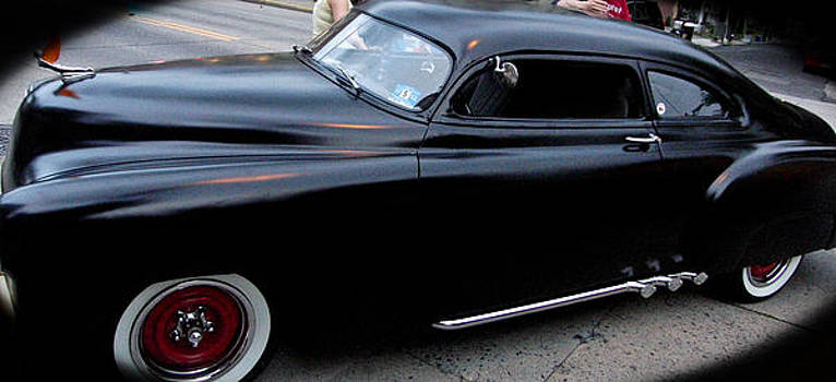 Black Classic Car by Ruthanne McCann
