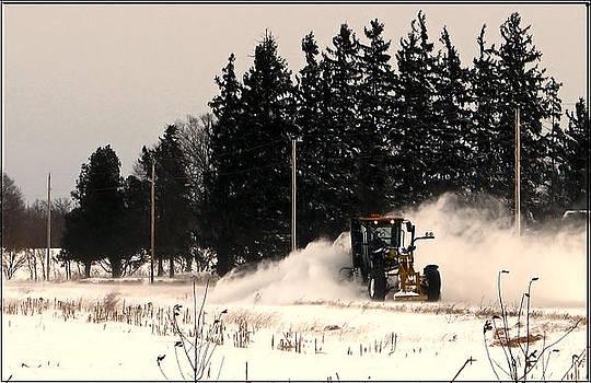 Blowing Snow Original Photo by Victoria Sheldon
