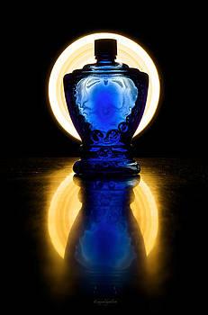 Blue Bottle by Walt Jackson