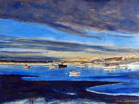 Blue Harbor by Robert Harvey