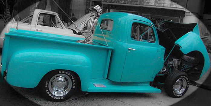 Blue Truck by Ruthanne McCann