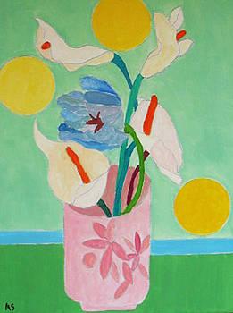 Blue Tulip by Martin Silverstein