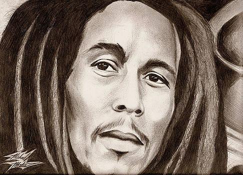 Bob Marley by Michael Mestas
