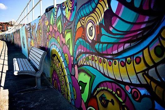 Bondi Beach Walk by KC Moffatt
