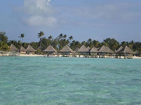 Bora Bora Meridian Overwater Bungalows by Paul Jessop