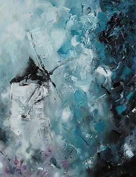 Broken windmill. by Cima Azimi