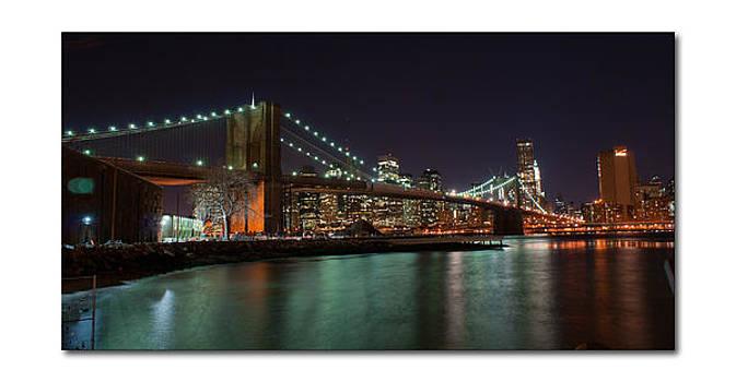 Brooklyn Bridge by Frank Garciarubio