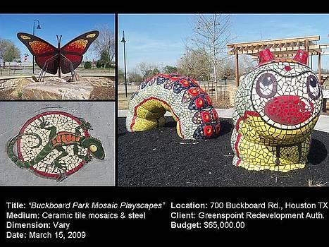 Buckboard Park Mosaic Playscape by Reginald Charles Adams