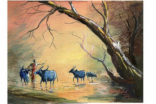 Bull by Arjunan Kalaiselvan