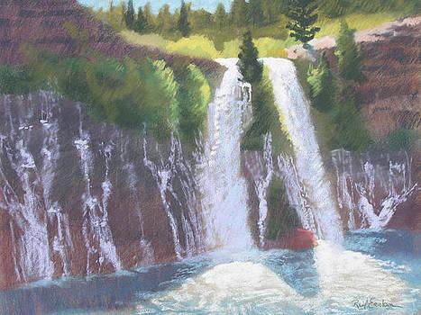 Burney Falls by Reif Erickson