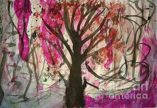 Burning tree of soul by Salim Ahmad Gorwal