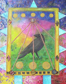 Caged Crow by Lisa Buchanan