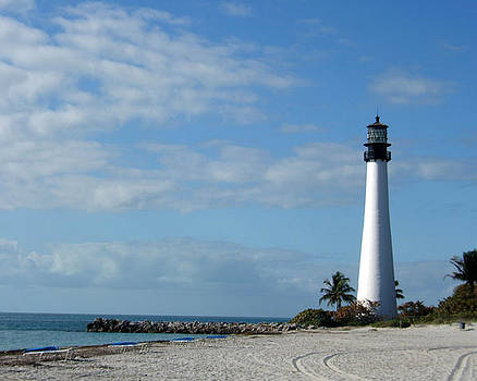 Cape Florida Lighthouse by Rosie Brown