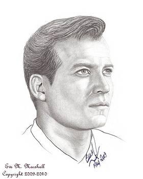 Captain James T. Kirk by Eve Maureen Marshall